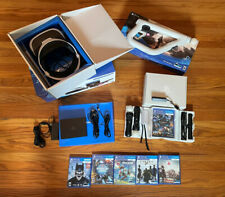 PlayStation VR Headset Bundle plus Aim and Games. PSVR PS4 PS5 CUH-ZVR2