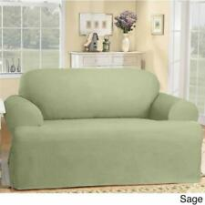 Sure fit SAGE  Cotton Duck One Piece T- sofa  Slipcover
