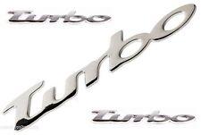 3D CHROME TURBO BADGE/EMBLEM/DECAL FORD - MONDEO/GALAXY/ESCORT/MAVERICK/TOURNEO
