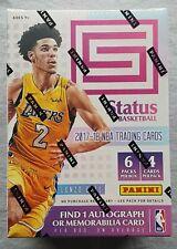 Panini Status Basketball Blaster Box 2017/18 1 Autograph Memorabilia per Box