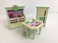 Fisher Price Loving Family Dollhouse Home For The Holidays Kitchen Sounds
