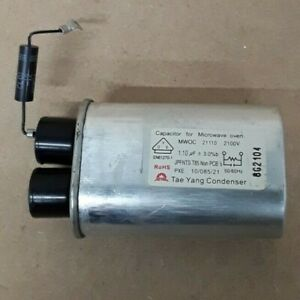 BOSCH MICROWAVE COMBI OVEN CAPACITOR+DIODE 00184344+00417726 GENUINE
