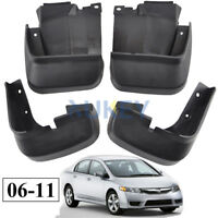 FIT FOR 2006-2011 HONDA CIVIC MUD FLAP FLAPS SPLASH GUARDS MUDGUARDS 2007 2008