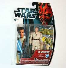 Star Wars Movie Heroes Figura: Obi-wan Kenobi (Mh16) con cañones de sable de luz