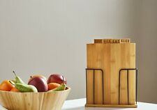 Bamboo chopping boards set great for caravan / camper trailer FREE POSTAGE