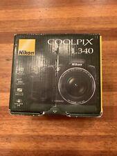 Nikon Coolpix L340 20.2MP Digital Camera - Black-Used