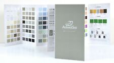 Autentico Fold-Out Colour Chart with Painted Swatches