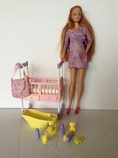Mattel Pregnant Barbie Midge Doll Happy Family Bump Baby & Dollhouse Nursery 02