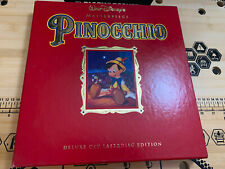 PinocChio Masterpiece Archive CAV Laserdisc Disney LD Box