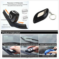 Car Wiper Repair Tool Kit for Windshield Wiper Blade Scratch Portable Key Chain