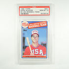 1985 Topps 84 Usa Baseball Team Mark Mcgwire #401 Rookie USA PSA 10