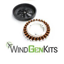 12/24/48V  PMA permanent magnet Rotor Stator wind turbine generator MB30W63 F&P