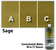 Professional Easy To Apply Water Based Concrete Stain Sage 8oz Bottle