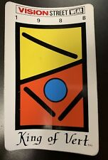 """88 Vintage BMX Freestyle 2Hip King of Vert Ramp Sticker Vision Street Wear 9""""X5"""""""