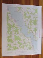 Chautauqua New York 1956 Original Vintage USGS Topo Map