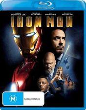 Iron Man Blu-Ray : NEW