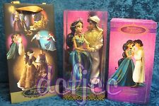 Disney Designer Fairytale Collection Doll Jasmine and Aladdin Limited Edition!