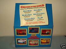"MATCHBOX Set regalo modello no.xx ""circhi del mondo"" 6 modelli MIB"