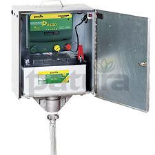 PATURA P 4500 Pour clôture 12 + 230 Volts avec électrique Boîte De Sécurité
