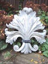 """Gostatue scrolled fleur de lis  casting mold concrete plaster mould 11"""" x 11"""""""