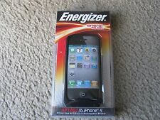 Energizer AP1201 Silicone Case w/Built-in Rechargeable Battery for iPhone 4 & 4S