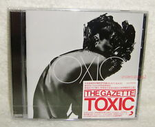 JROCK the GazettE Toxic 2011 Taiwan CD -Normal Edition- Shiver Pledge Vortex Red