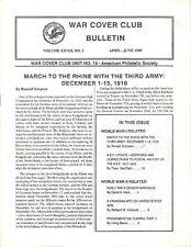 WAR COVER BULLETIN APRIL-JUNE 1989