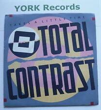 "TOTAL CONTRAST - Takes A Little Time - Excellent Con 7"" Single London LON 71"
