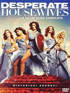 COFANETTO DVD - DESPERATE HOUSEWIVES STAGIONE 6 SERIE TV - 6 DVD