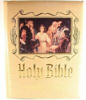 1988 Family Size Holy Bible Master Reference Edition Heirloom KJV Red Letter