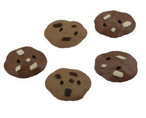 Cookie Monster Count n' Crunch Cookies (5) Mixed Light/Dark Colored Cookies
