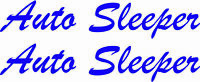 MOTORHOME CAMPER VAN CARAVAN / STICKERS /DECAL / GRAPHIC / AUTO SLEEPER VINYLS