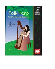 Mel Bay 30616M Folk Harp for the Young Beginner by Star Edwards and Ships Free