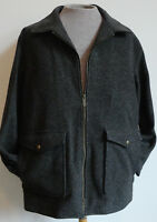 Men's Pendleton Wool Jacket NWT American Wool Grey List $240 Size Medium M