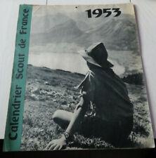1953 calendrier scout de france n°1