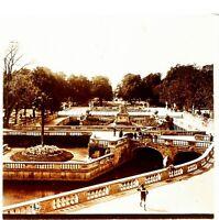 Francia Nîmes Jardins Da La Fontana Foto Stereo Placca Lente VR4L8