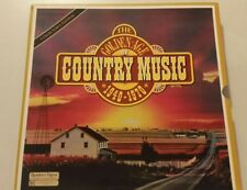 LP Record Set Golden Age Country Music 1940-1970,7 Records