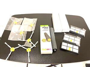 irobot roomba replenishment kit 800 900 extracor set rollers, brushes, filter