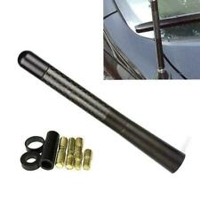 "5"" Short Screw on Antenna Matte Black Real Carbon Fiber Aluminum"
