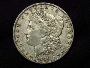 1900-O/CC Morgan Silver Dollar CRUSTY ORIGINAL XF/XF+