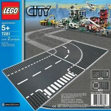 Lego 7281 City T Junction and Curves Road Base Plate  *  Brand New  *