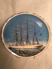More details for old foley herzogin cecilie built 1902 four masted ship sailing boating plate