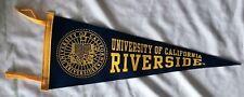 California Riverside Highlanders Wool Felt NCAA Pennant