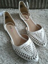 Just Fab White Sandle / Shoes Size 5.5 BNIB rrp.£44.00 Gift