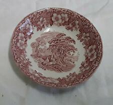 Enoch Wedgwood Keramik Salatschale Desertschale Einhorn England woodland vintage