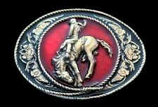Western Cowboy Cowgirl Rodeo Horse Rider Belt Buckle Buckles Boucle Ceinture