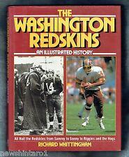 #DD7.  AMERICAN  FOOTBALL  BOOK - WASHINGTON  REDSKINS  HISTORY