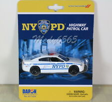 "NYPD Dodge ""Charger"" Highway Patrol Car ""Diecast"" 1/43"