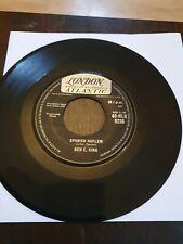 "Ben E King 7"" Vinyl Single Spanish Harlem 1960 London Atlantic Label"