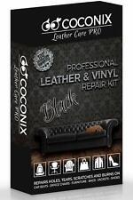 Coconix Leather Care Pro Professional Leather & Vinyl Repair Kit Black